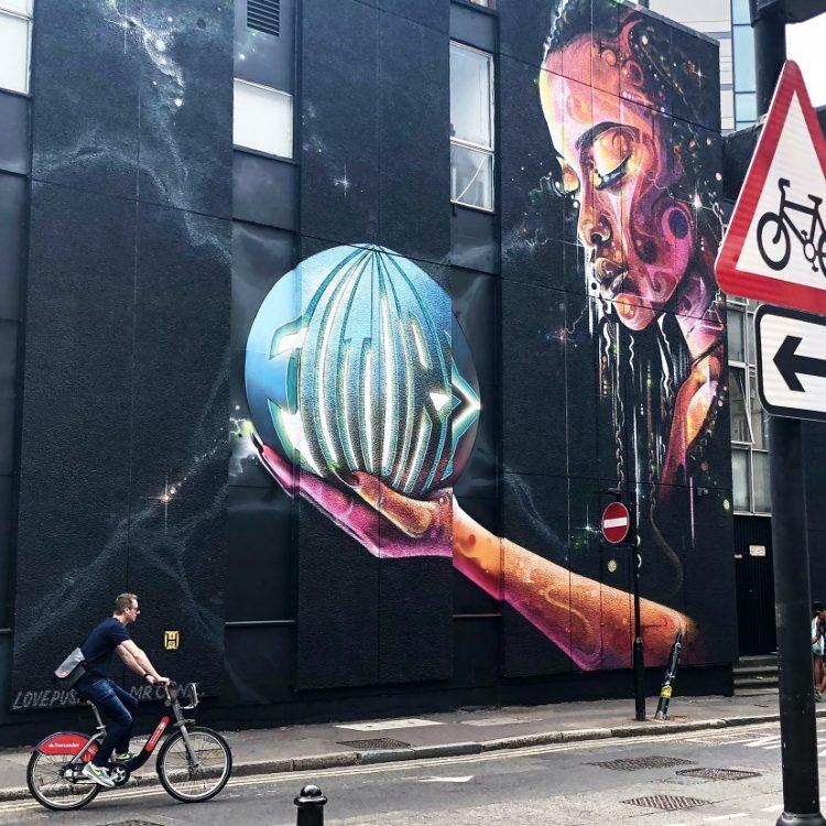 לונדון שורדיץ' אמנות רחוב