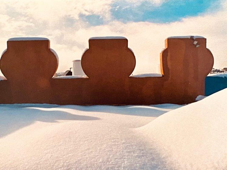 גג של בית ערבי בירושלים - תכנון ועיצוב שרון אלה 1997